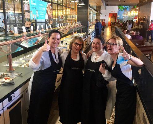 empleados Muerde la Pasta