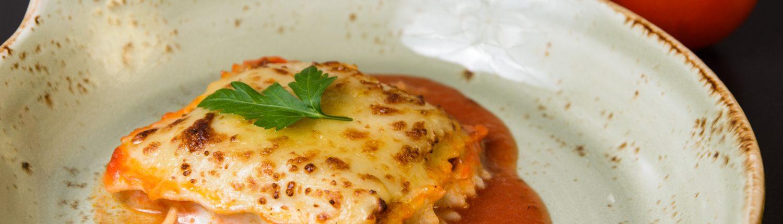 LASAGNE BOLOGNESE Muerde la Pasta